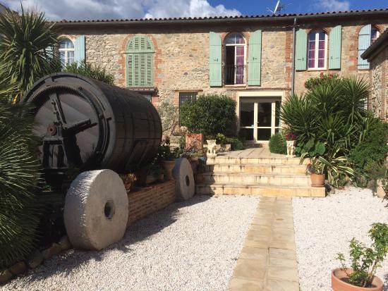 Prades, Frankrig: Zona del jardín