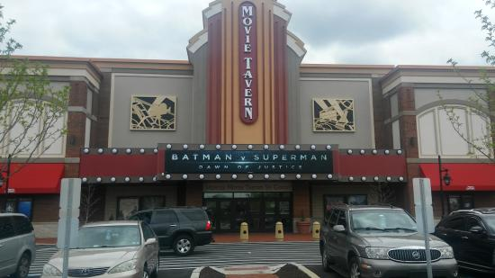 From The Parking Lot Picture Of Movie Tavern Exton Tripadvisor