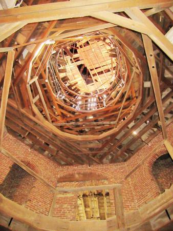Natchez, MS: structure du dôme, inachevé