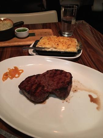 Great Steaks and atmosphere