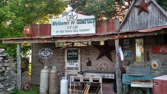 Comfort, TX: Old Entrance
