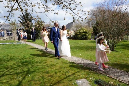 Saint Ewe, UK: Our Wedding day