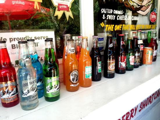very good burgers nice selection of sodas picture of danny s all rh tripadvisor co za