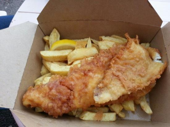 Quick fish and chip
