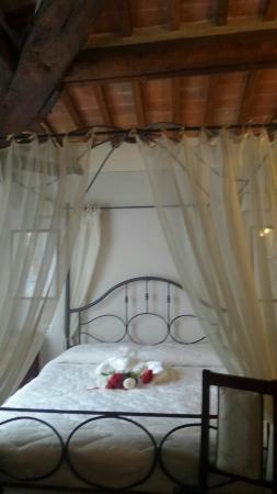 Hotel la Toscanina: Il nostro letto per una notte