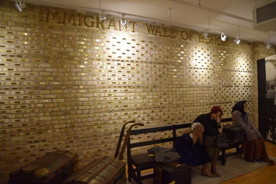 Swedish American Museum: Immigration Wall of Fame