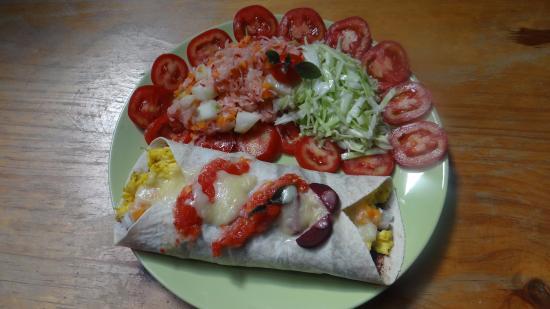 San Juan la Laguna, Guatemala: Enjoy vegetarian and vegan dishes, very healthy