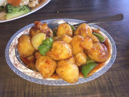 Silver Dragon Restaurant: Sweet & Sour Pineapple Chicken Balls
