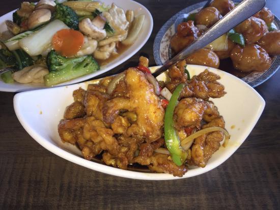 Silver Dragon Restaurant: Ginger Chicken
