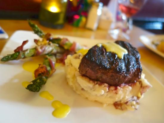 Silver City, Nowy Meksyk: Asparagus and mash potato sides