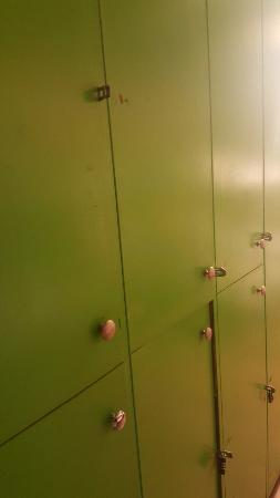 International Budget Hostel: Lockers