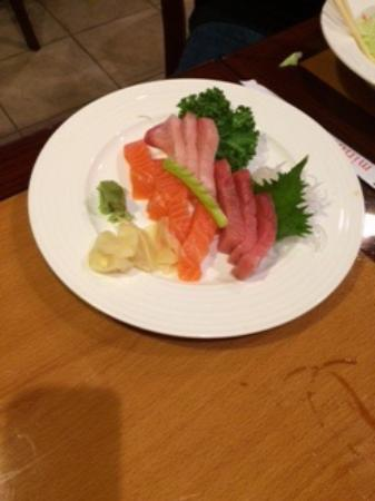 Concord, CA: 9 piece sashimi