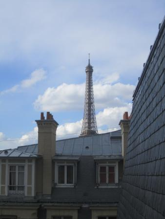 Hotel Ares Paris : view from room 734