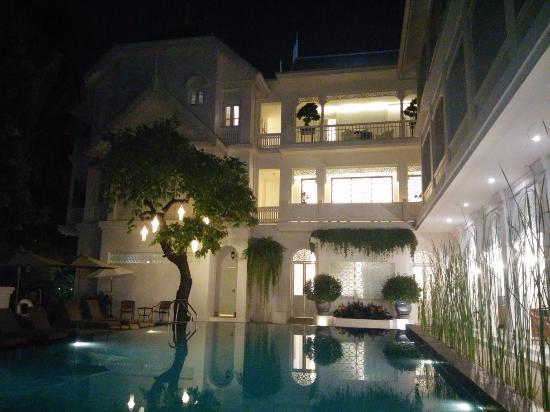 بنج ناكارا بوتيك هوتل آند سبا: Ping Nakara - Pool At Night - March 2016