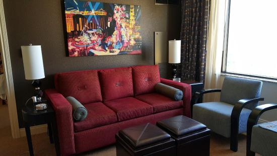 Sleeper sofa is so comfortable - Picture of Marriott\'s Grand Chateau ...