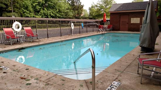 Doubletree Hotel Atlanta/Alpharetta-Windward: Terrible pool for a hotel rated at 3-1/2 stars