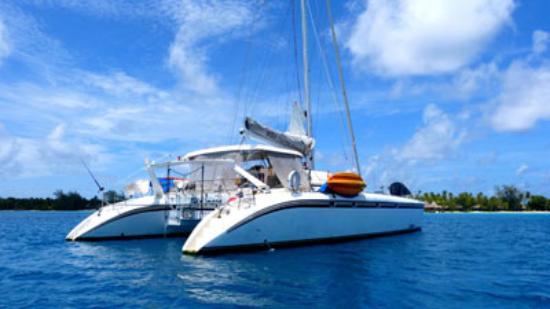 Huahine, Polinesia Francesa: Croisière en Polynésie