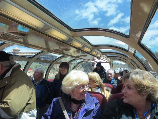 Williams, AZ: Carriage with observation dome