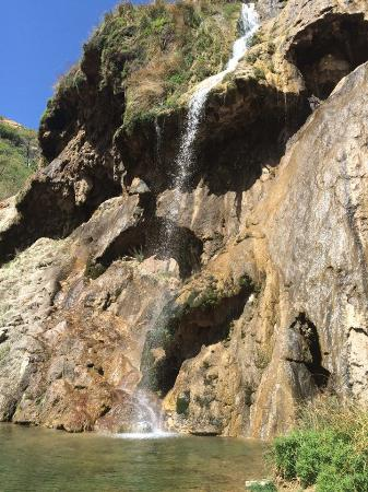 Full view of Sitting Bull Falls