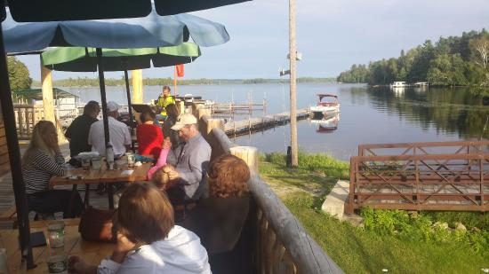 Cook, MN: Live entertainment in the summer.