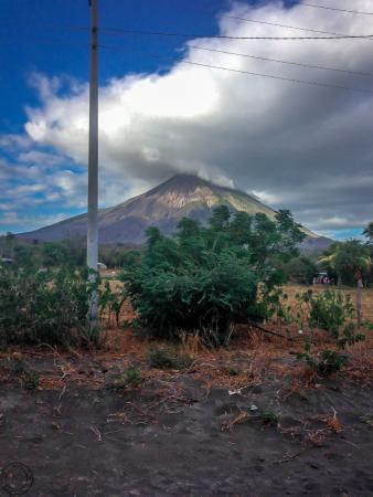 Moyogalpa, Nikaragua: Volcano views