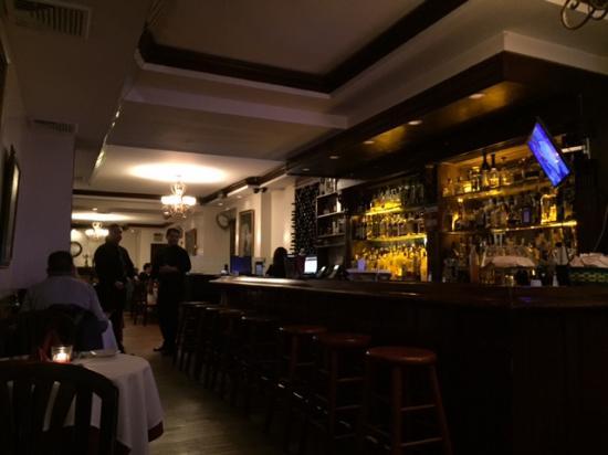 Notaro: The dining room on a quiet Sunday night