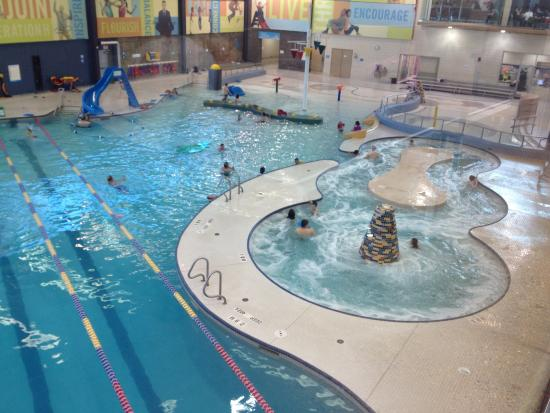 Pool and climbing wall - Picture of Vivo for Healthier Generations ... 06396fa623