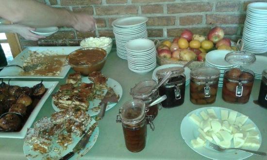 Termas Cacheuta - Terma Spa Full Day: mesa dulce