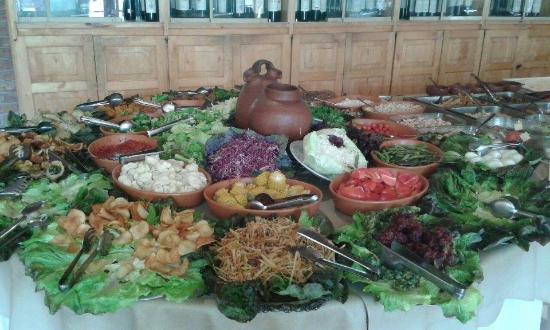 Termas Cacheuta - Terma Spa Full Day: comidas para todos los gustos