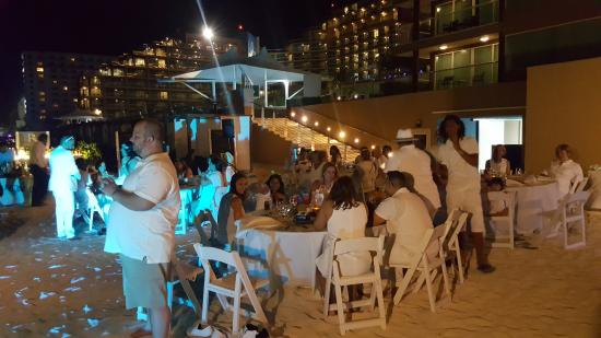 Hard Rock Hotel Cancun The Wedding Welcome Party On Beach