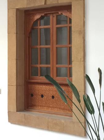 Palais des Remparts : Interior Window