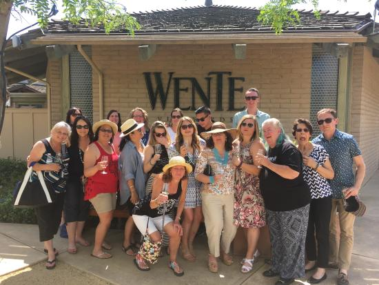 Danville, Kalifornia: Friends and family at Wente