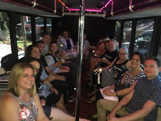 """Danville, Kalifornia: On the """"party bus"""""""