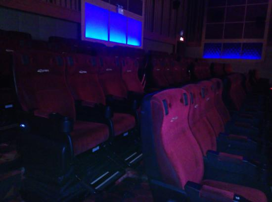 AIS 4DX Theater: Seating Arrangements