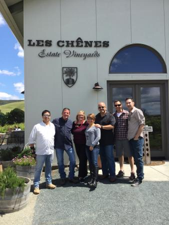 Danville, CA: Glorious day at Les Chenes