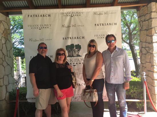 Данвилл, Калифорния: Frank family winery-Napa