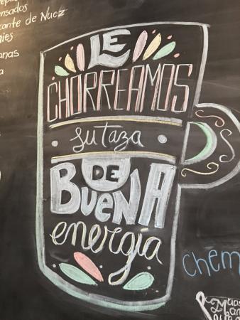 Una Gran Frase De Este Café Picture Of Viva Cafe San Jose