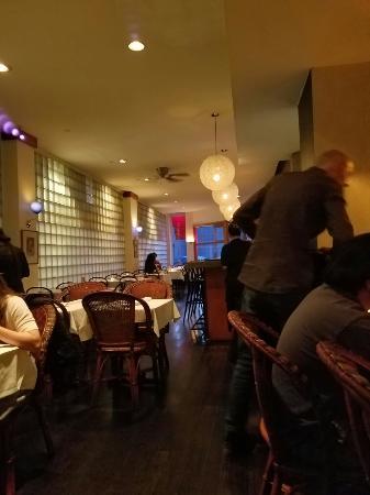 Basil - Thai Restaurant & Bar : Such a great find. Thank you Google maps.