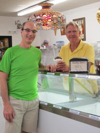 """North Fort Myers, FL: Jeff and I with the """"Jeff Cup"""""""