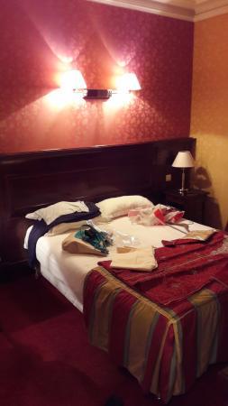Hotel Viator - Paris Gare de Lyon: Camera pulita ed elegante.