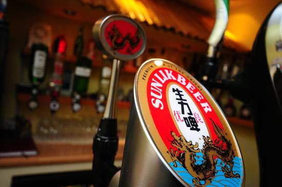 Cullompton, UK: Chinese Beer