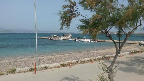 Agia Anna, Grecia: Uitzicht op de haven