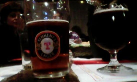 Brandizzo, Italie : ottima birra... ovvio rossa