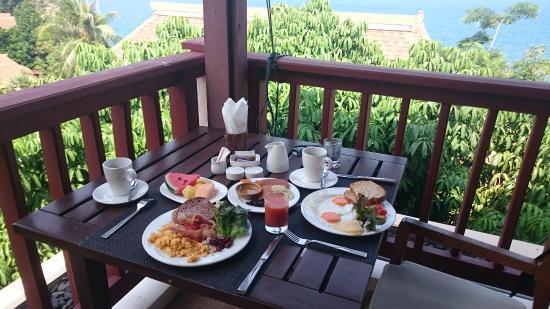 Crown Lanta Resort & Spa: Vista Incrível do Café da manhã!
