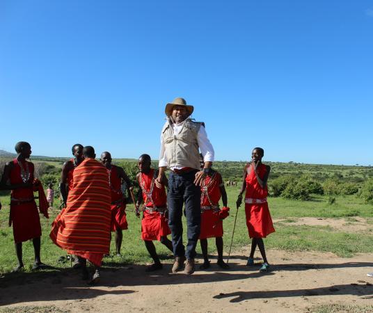 Mara Simba Lodge : Dancing with the Masai's