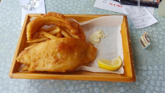 Aristos Waterfront Bunbury: fish and chips