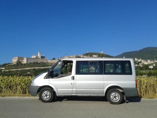 Tordandrea, Italia: Our comfortable van