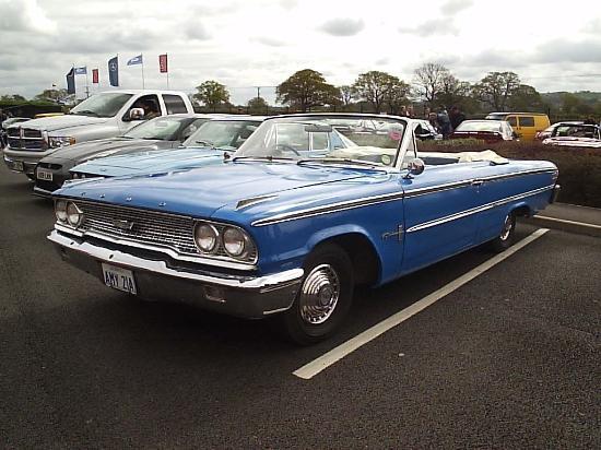 Classic american car seen at the first breakfast meeting for Motor car international bridgewater ma