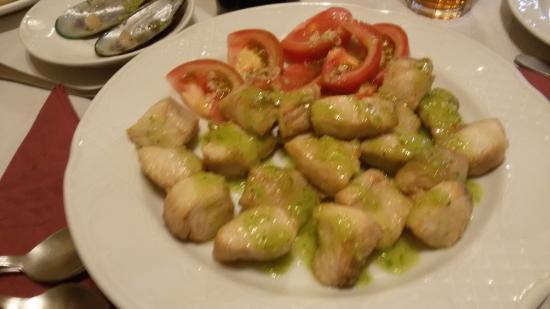 Valleseco, España: Tacos de Cherne