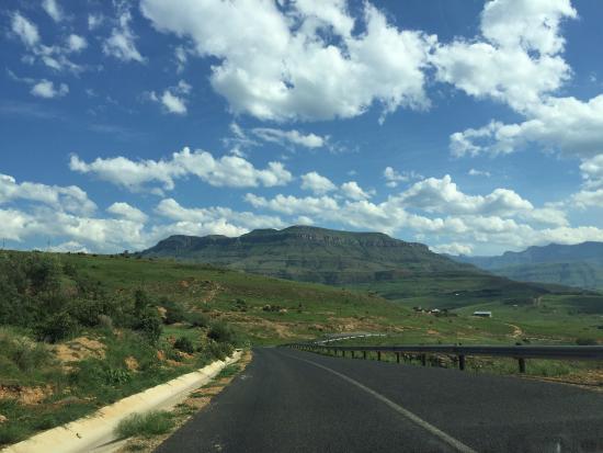 Winterton, África do Sul: Drive to hotel